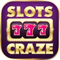 Slots Craze - Free slots games! The real Vegas casino experience icon