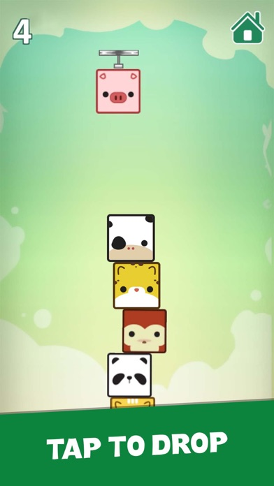Pet Cube: Tower Stack Screenshot