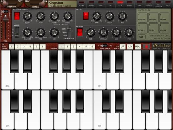 Screenshot #4 for Galileo Organ