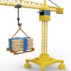 tiny book construction site excavator