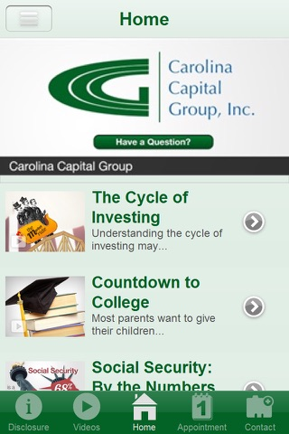 Carolina Capital Group, Inc. screenshot 2