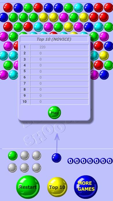 Screenshot of Bubble Shooter Classico5