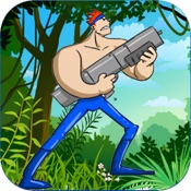 Hero Jump PRO - Nostalgic Contra and Rambo Edition