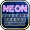 Neon Keyboard Maker – Glowing Keyboards Themes with Fancy Fonts and Custom Backgrounds