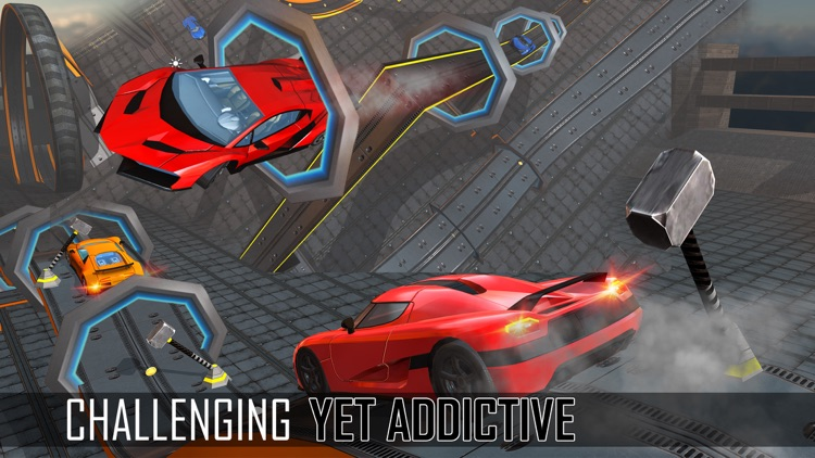 Extreme Sports Car Stunts 3D   City Muscle Car Racing U0026 Drifting Challenge
