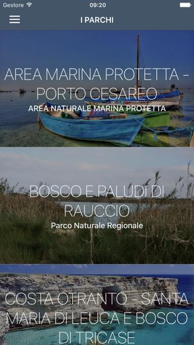 Screenshot of Parchi del Salento1