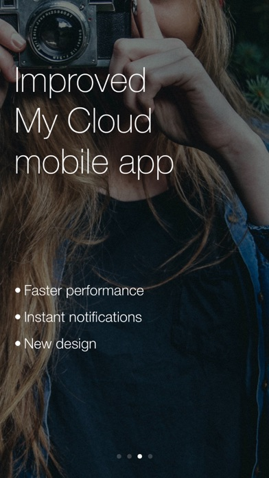 WD My Cloud Screenshot