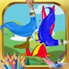Coloring For Kids Game Bugs Bunny Version