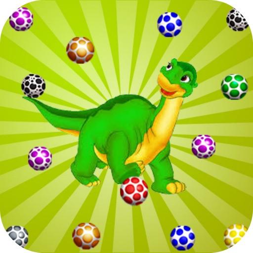 Ball Dinosaur Play - Egg Color iOS App