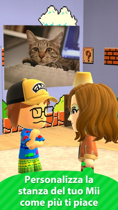 Screenshot of Miitomo3