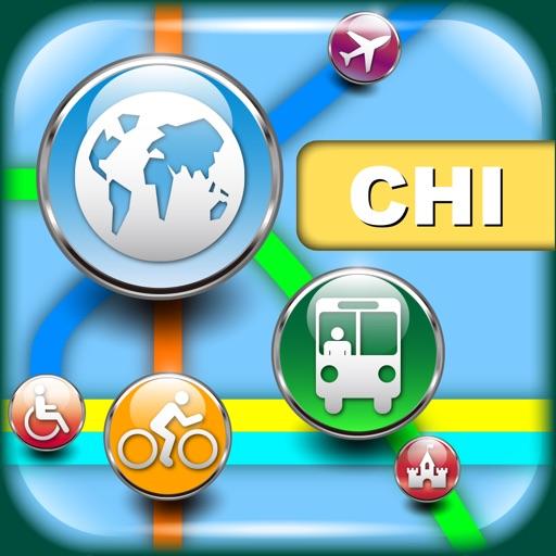 【旅行必备】芝加哥(美国)地图 - 下载列车线路图和旅游指南