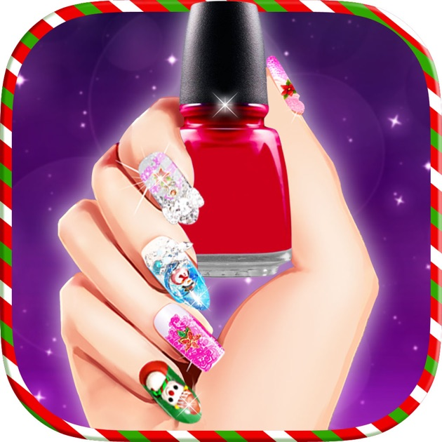 Christmas princess nail salon nail art games on the app store prinsesfo Gallery