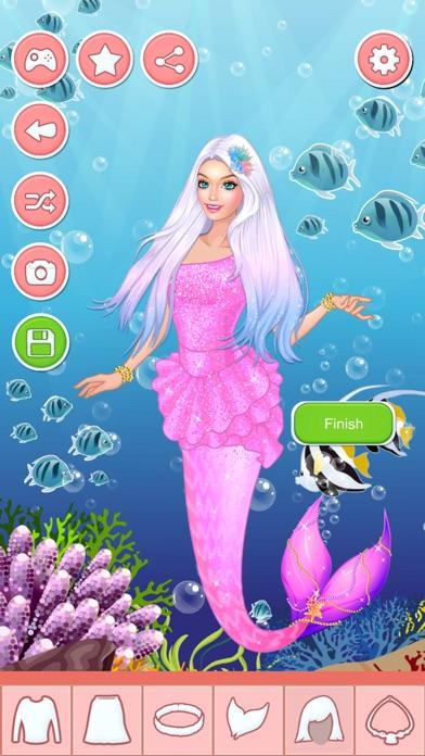 Screenshot of Giochi Di Vestire Principessa Sirena Per Ragazze2