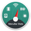 MenuBar Stats - System Monitor & Memory Clean & Battery Health - Fabrice Leyne Cover Art