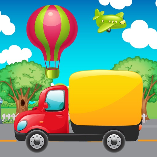 Baby Spiele Verkehrsmittel iOS App