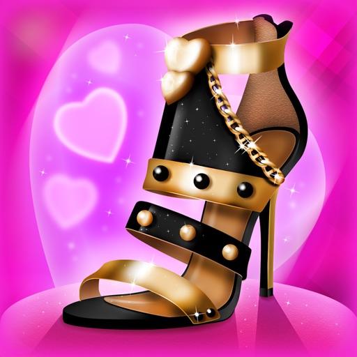 设计自己的鞋3d 女孩游戏 - 热门高跟鞋设计师和时尚造型师