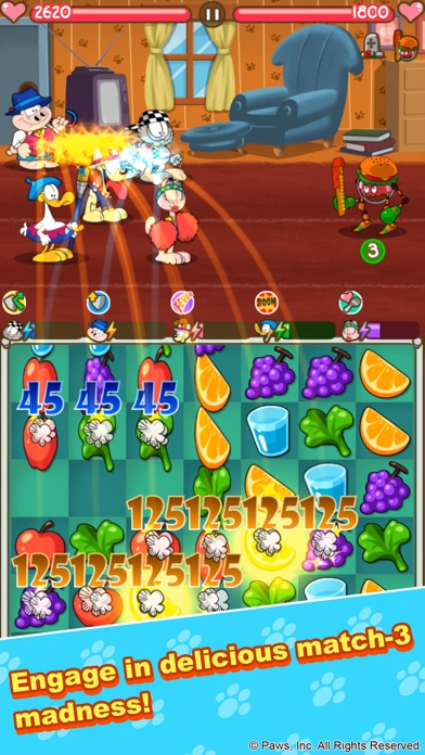 Garfield's Defense 3: Diet Fight Screenshot