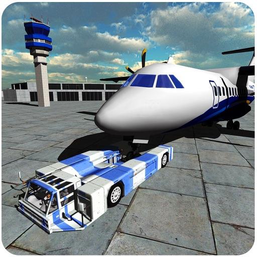 机场航班工作人员- 3d飞机的停车场模拟器游戏 iphone