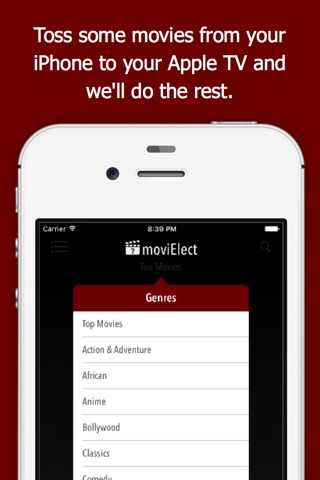 moviElect - Decide Which iTunes Movie or Rental to Watch for TV & Mobile screenshot 2