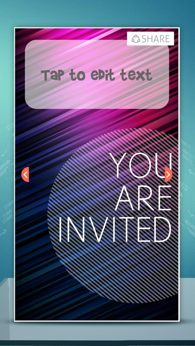 Formal Business Invitation Cards – e-Card Maker & Invitations For Special Occasion.s Screenshot on iOS