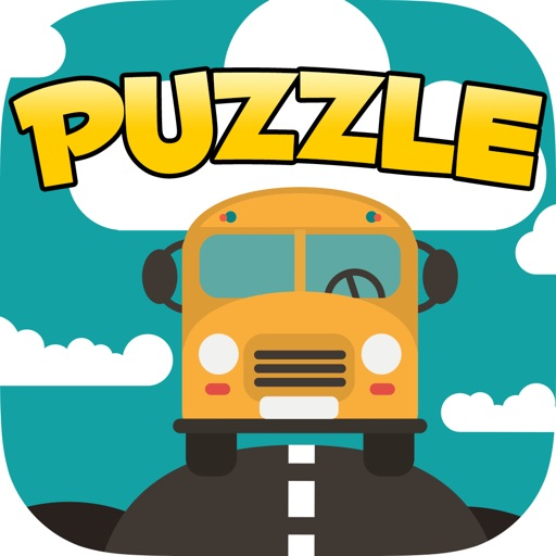 A Aaron Back to School Puzzle Game Icon