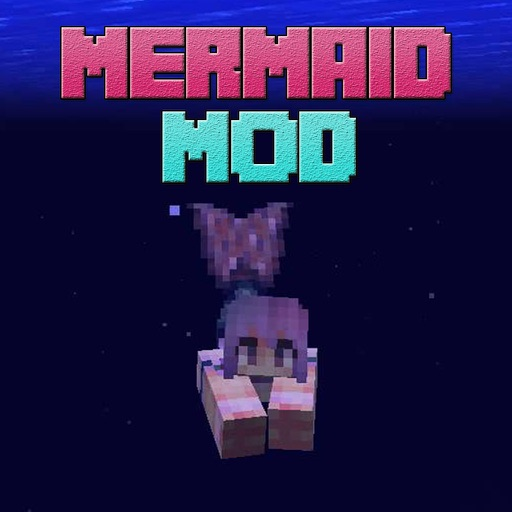 MERMAID MOD - Reality Mermaids Tail Mods Free Guide (with Shark) for Minecraft PC Edition Icon