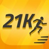 Half Marathon training, 21K Runner: 13.1 mile run
