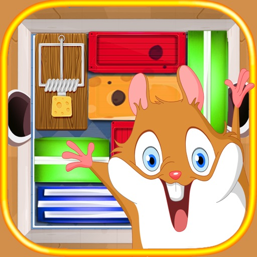 Unblock My Mouse -  Can You Escape The Shock Maze iOS App