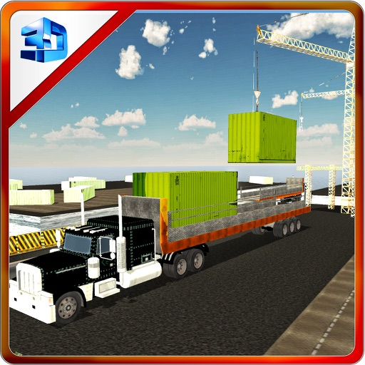 Cargo Container Delivery Truck- Lorry Driving iOS App