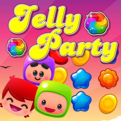 Jelly Party HD iOS App