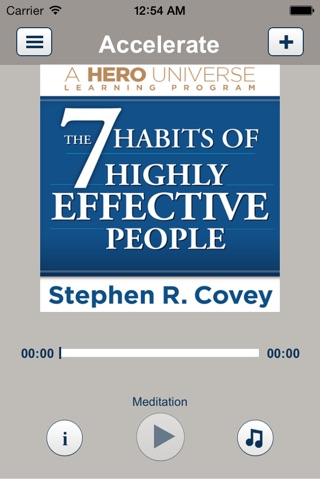 7 Habits of Highly Effective People, by Stephen Covey, Audiobook Meditation and Business Learning Program-Franklin Covey screenshot 2