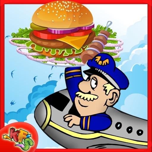 Fabricante De Alimentos Airline Hacer Hamburguesa Y Sandwich En