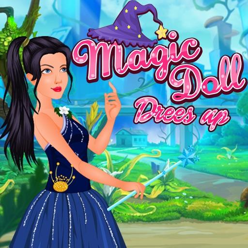 Magic Doll Dress Up iOS App