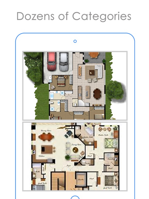 2d home design. iPad Screenshot 2 Magical Home Plans Idea  Free Floor Plan Catalog on the App Store