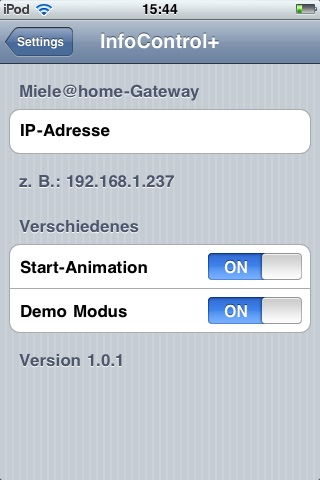 InfoControl+ screenshot 4