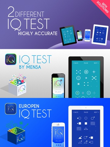 IQ Test - What's my IQ? на iPad