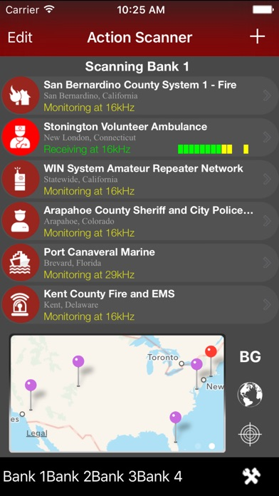 Action Scanner PRO - Police Fire and EMS Screenshot