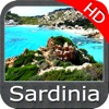 Marine : Sardinia (Sardegna) HD - GPS Map Navigator
