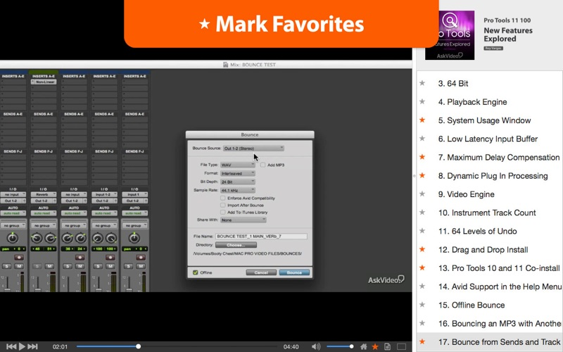 New Features of Pro Tools 11 Screenshot - 4