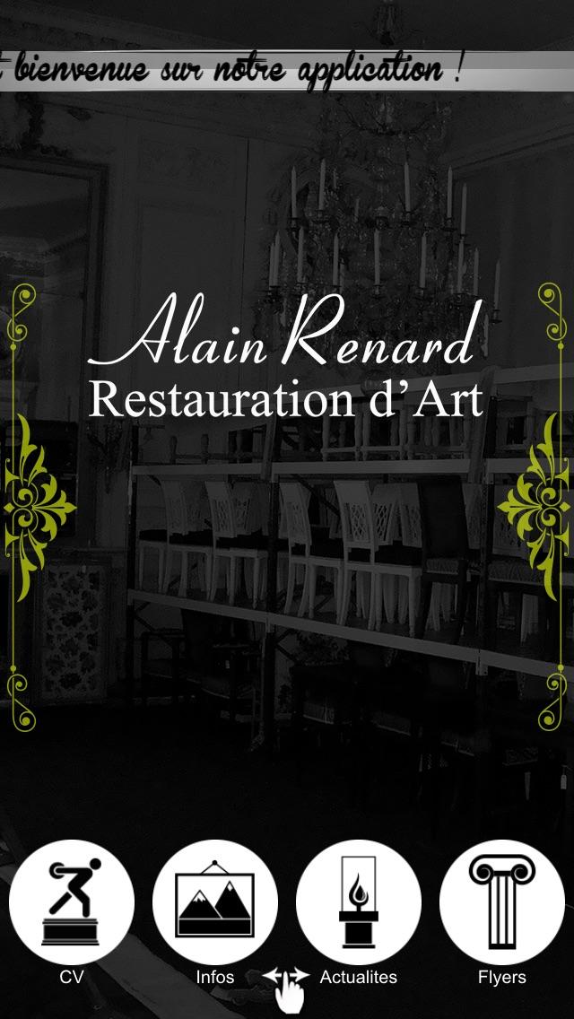 Alain Renard Restauration d'art screenshot one