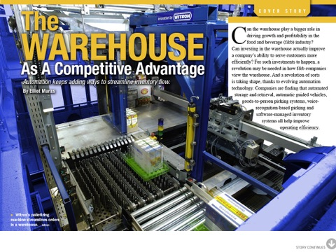Food Logistics Magazine screenshot 2