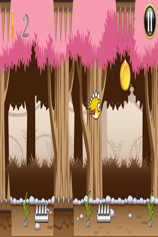 Flappy Dragon Dash: Jungle screenshot 2