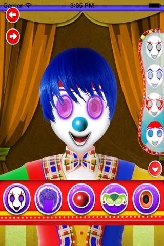clown makeover salon screenshot 1
