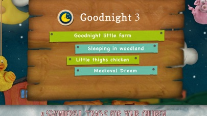 download Goodnight 3 - Lullabies & Free Music for Children (Clay Farm edition) apps 3