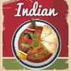 Indian Food. Quick and Easy Cooking. Best cuisine traditional recipes & classic dishes. Cookbook