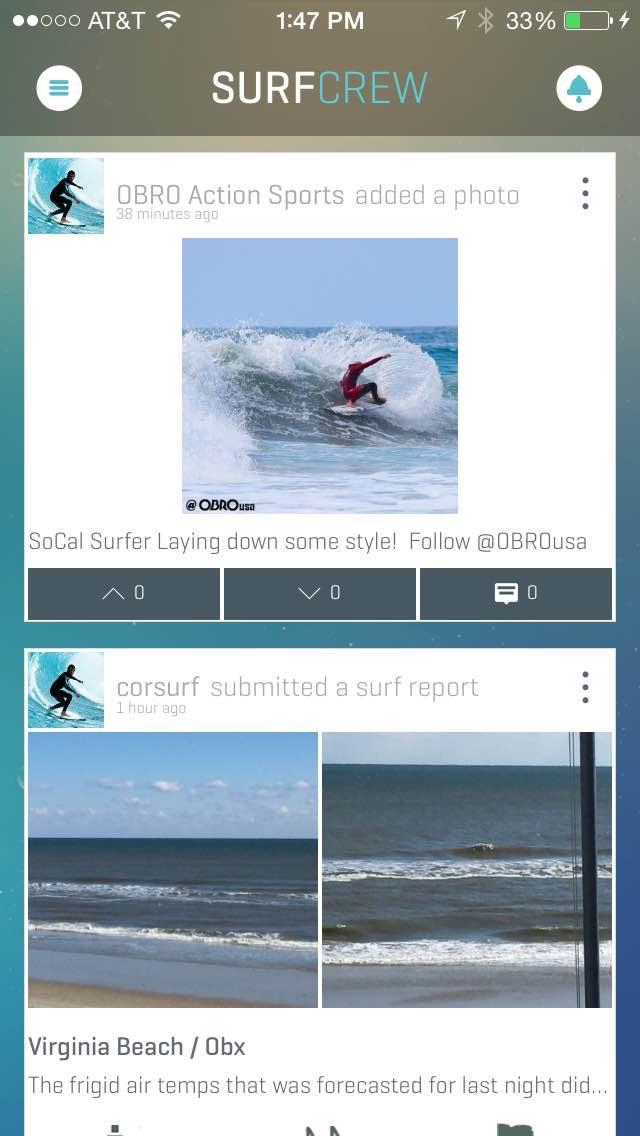 Swell Info Surf Crew screenshot two