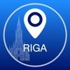 Рига Оффлайн Карта + Тур гид Навигатор, Развлечения и Транспорт