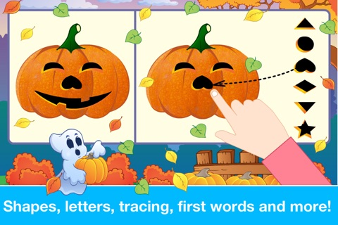 Halloween Learning Games for Preschool and Kindergarten Kids by Abby Monkey® screenshot 3