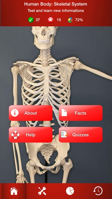 Human Body Skeletal System Trivia On The App Store