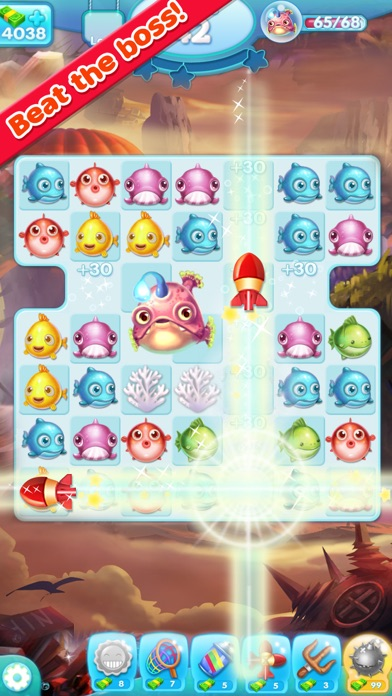 download Marine Adventure -- Collect and Match 3 Fish Puzzle Game for TANGO apps 4